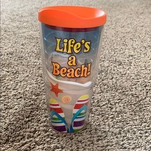 Tervis Beach insulated Cup with lid